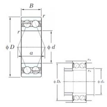 KOYO 5313 angular contact ball bearings
