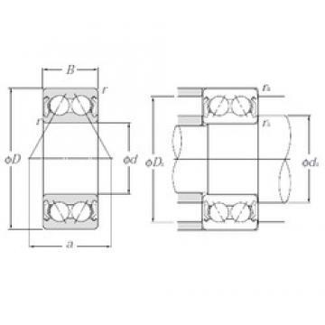 NTN 5303SCZZ angular contact ball bearings