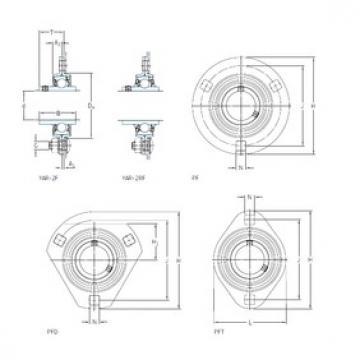 SKF PFT 35 TF bearing units