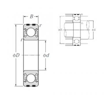 NTN EC-6307ZZ deep groove ball bearings