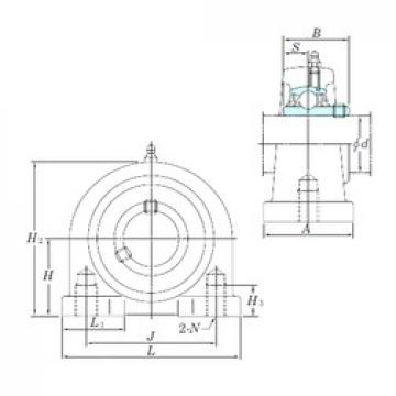 KOYO UCPA207 bearing units