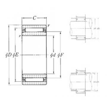 NTN NAO-6×17×10T2 needle roller bearings