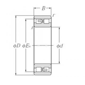 NTN NN3026 cylindrical roller bearings