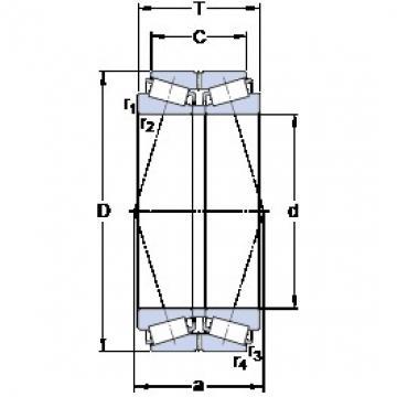 SKF 331181 tapered roller bearings