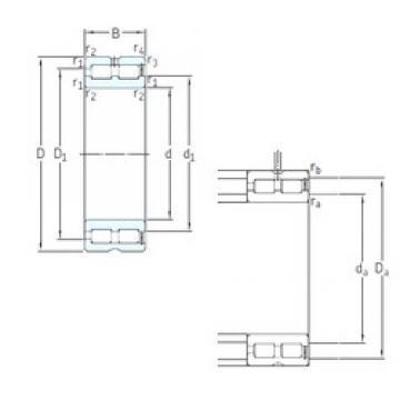 SKF NNCF5060CV cylindrical roller bearings