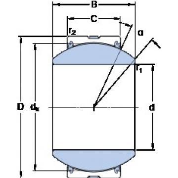 SKF GEH 110 TXG3A-2LS plain bearings