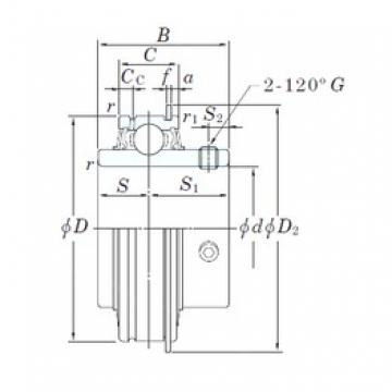 KOYO ER212-38 deep groove ball bearings