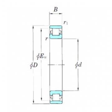 KOYO N1030 cylindrical roller bearings