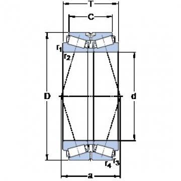 SKF BT2B 332516 A/HA1 tapered roller bearings