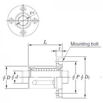 KOYO SDMF20 linear bearings