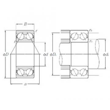 NTN 5306S angular contact ball bearings