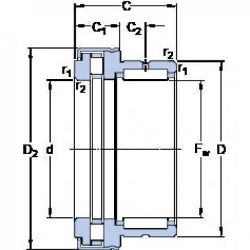 SKF NKXR 20 Z cylindrical roller bearings