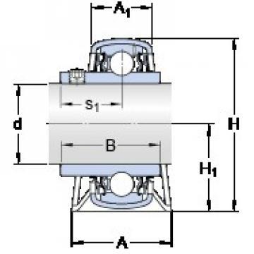 SKF P 35 TR bearing units
