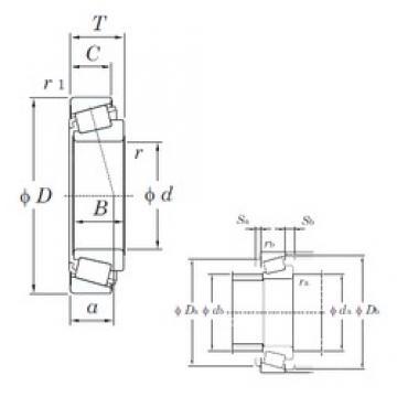 KOYO L44645R/L44610 tapered roller bearings