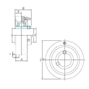 KOYO UCC307 bearing units