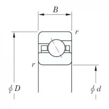 KOYO KGA060 angular contact ball bearings