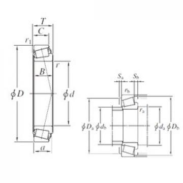 KOYO 32928JR tapered roller bearings
