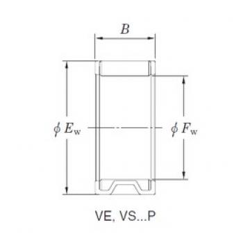 KOYO VE303922AB1-1 needle roller bearings