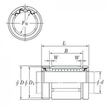 KOYO SDM30MG linear bearings