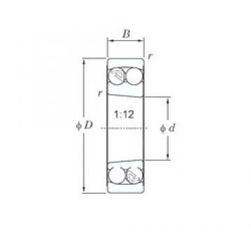 KOYO 2209K self aligning ball bearings