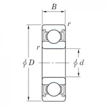 KOYO SE 6004 ZZSTPRZ deep groove ball bearings