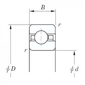 KOYO KDC080 deep groove ball bearings