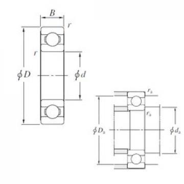 KOYO 16056 deep groove ball bearings