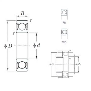 KOYO 6212-2RD deep groove ball bearings