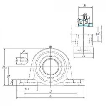 KOYO UKP216 bearing units