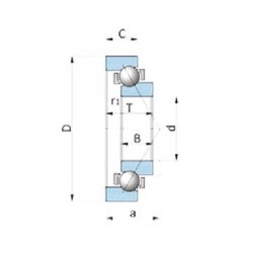 NTN SF4019PX1 angular contact ball bearings