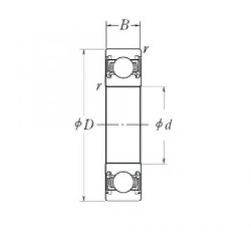 KOYO 83A170C4 deep groove ball bearings