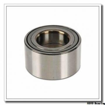 KOYO 7011 angular contact ball bearings