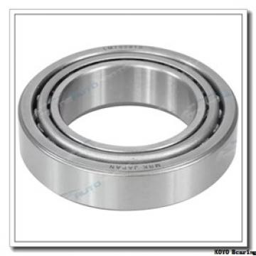 KOYO 7017C angular contact ball bearings