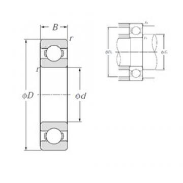 NTN 6706 deep groove ball bearings