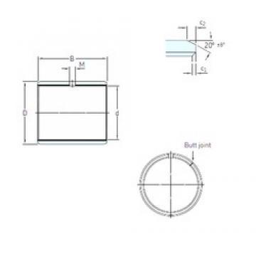 SKF PCM 10010560 E plain bearings