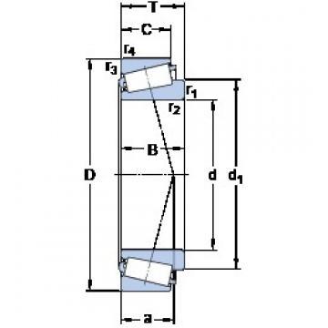SKF 30221 J2 tapered roller bearings