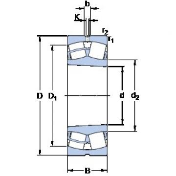 SKF 23028 CCK/W33 spherical roller bearings