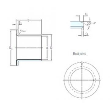 SKF PCMF 121417 E plain bearings