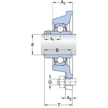 SKF FY 1.3/4 TF/VA228 bearing units