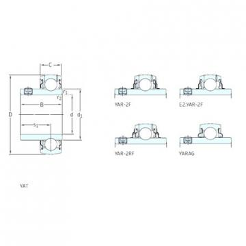 SKF YAR204-012-2RF deep groove ball bearings