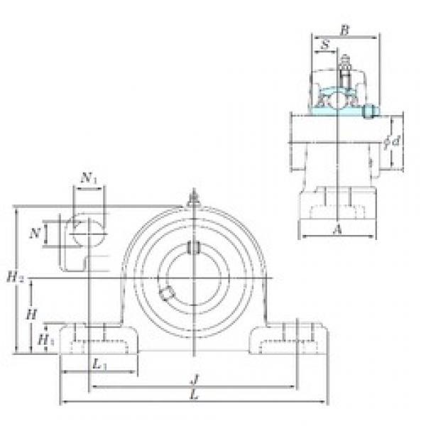 KOYO UCP319SC bearing units #3 image