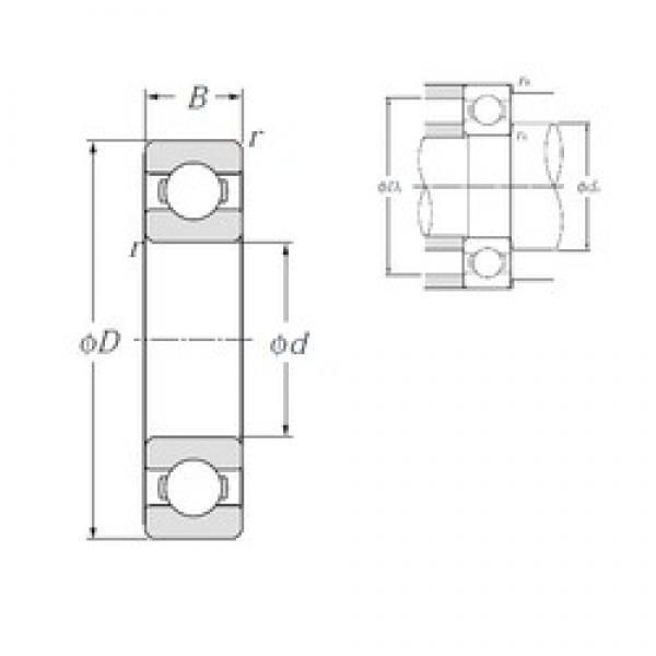 NTN 6328 deep groove ball bearings #3 image